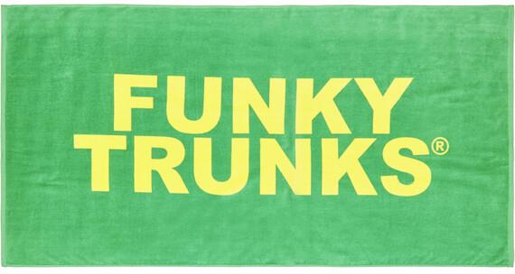 Funky Trunks Towel Still Brasil